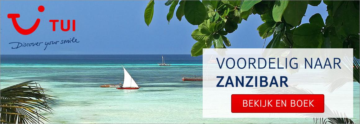 Met TUI op vakantie naar Zanzibar