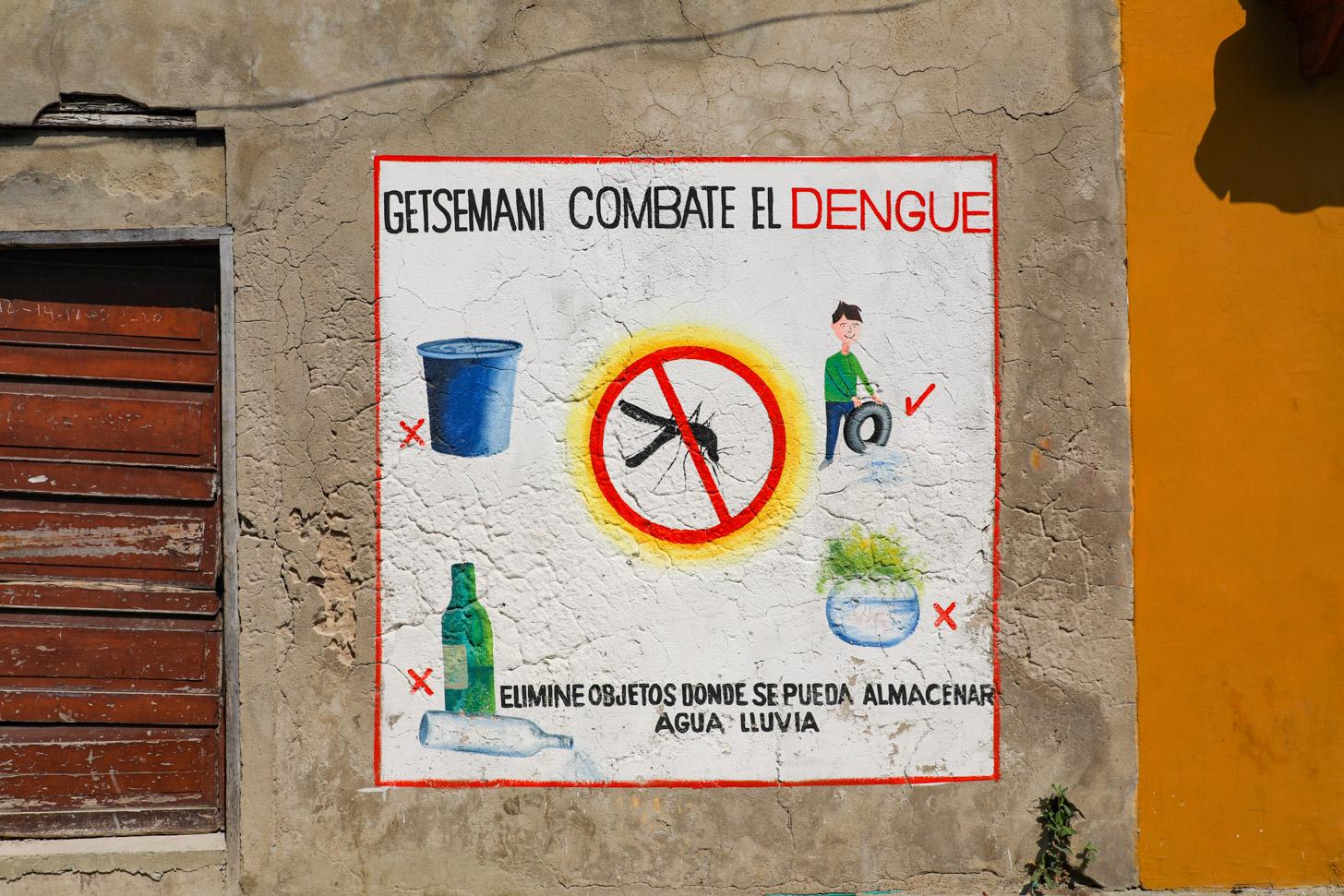 muggen vormen een gevaar