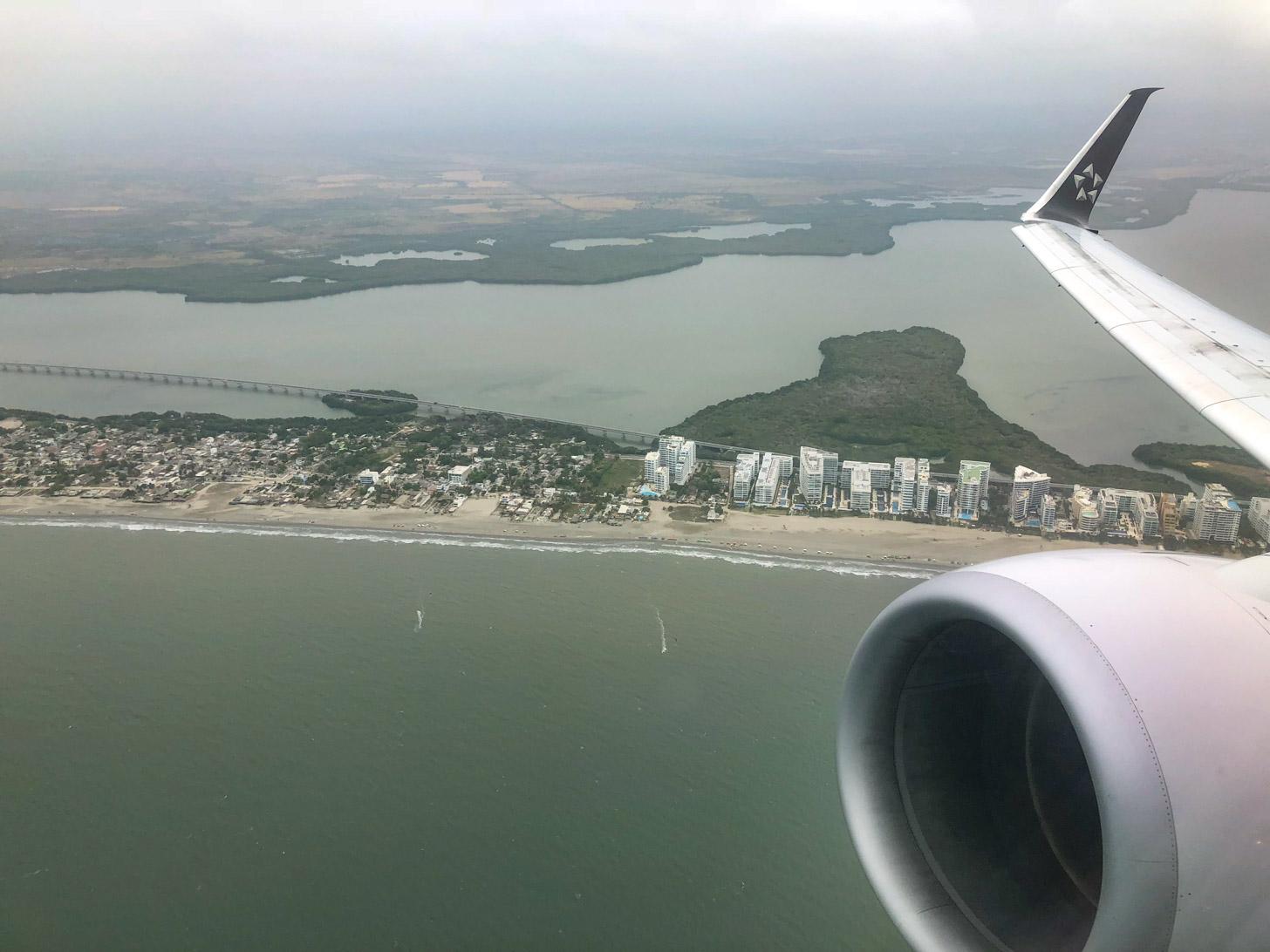 vliegen naar Cartagena
