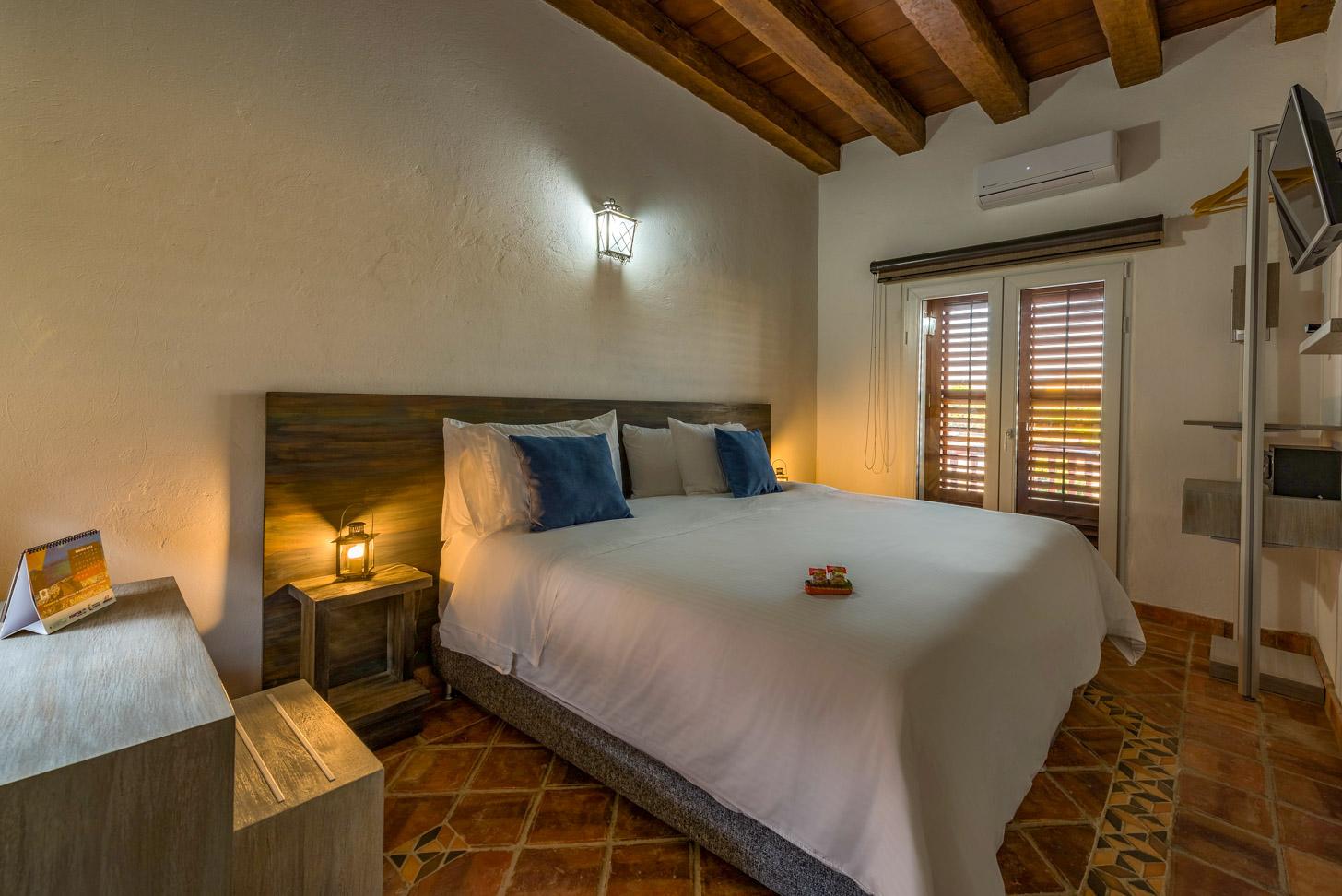 Slaapkamer Getsemani Cartagena Luxury Cartagena