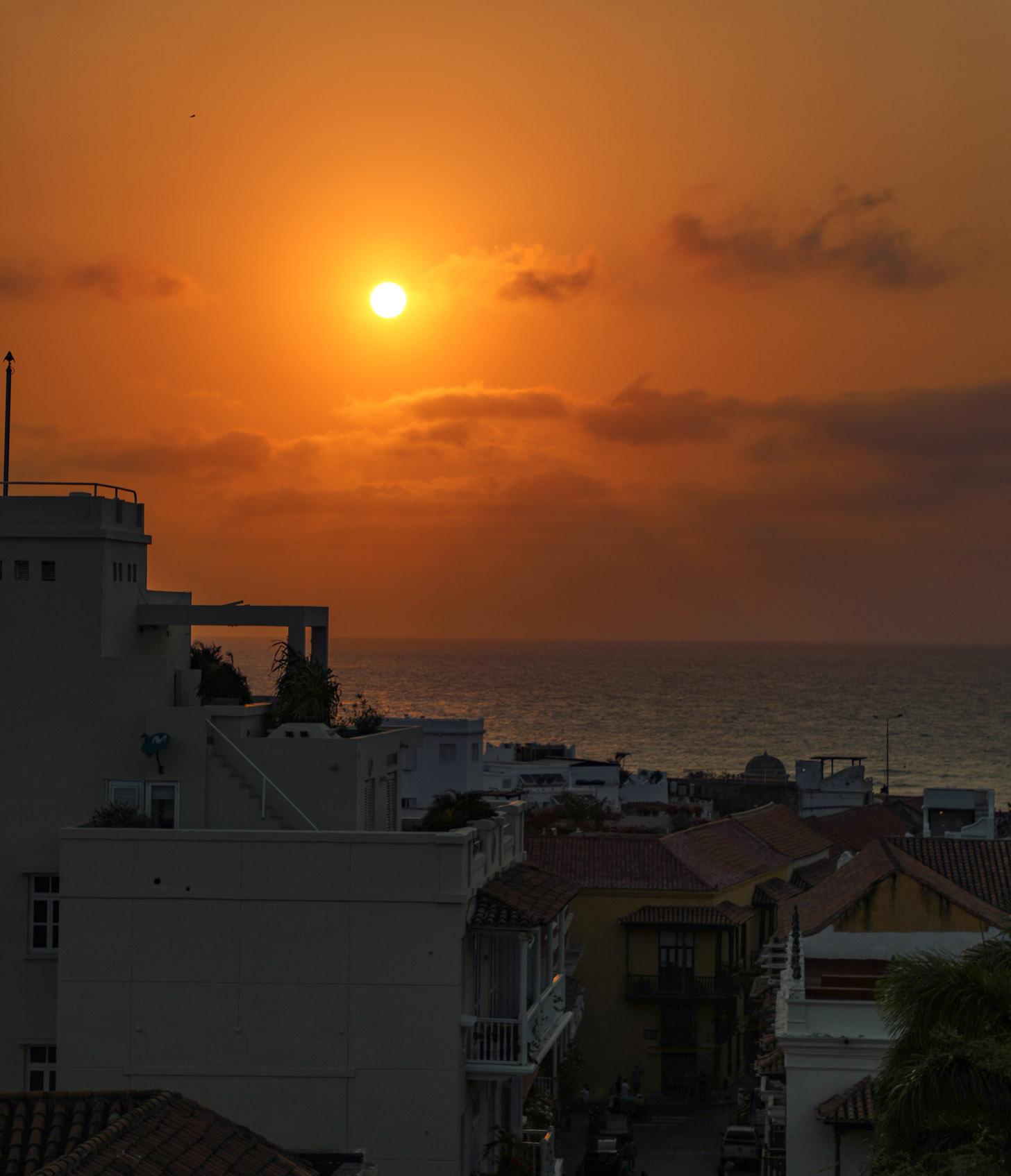 het weer in Cartagena